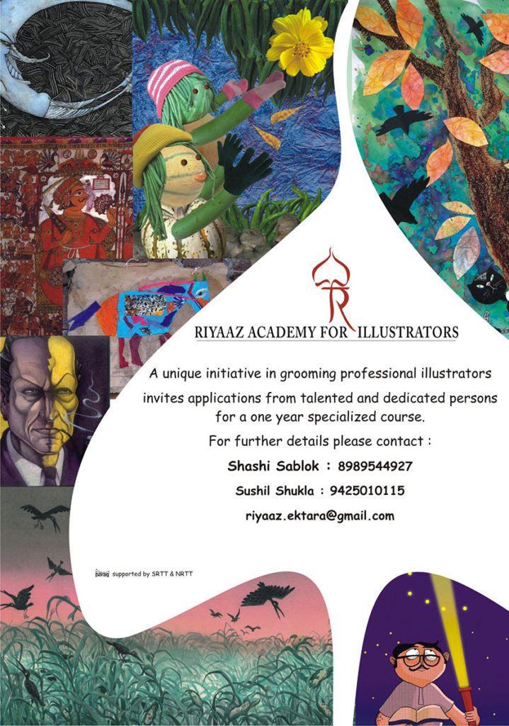 Admission Open for Riyaaz : Academy for Illustrators