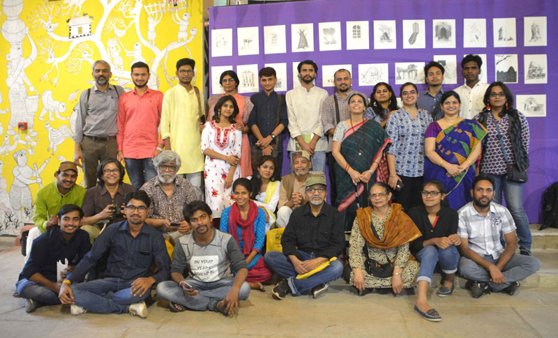 Riyaaz : Academy for Illustrators - students and faculty